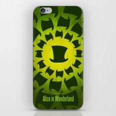 Alice in wonderland Minimal art iPhone & iPod Skin