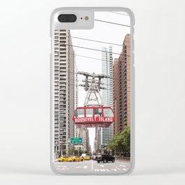 Roosevelt Island Tramway Clear iPhone Case