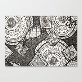 Bobbles Canvas Print