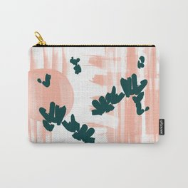 Morning Blooms Carry-All Pouch