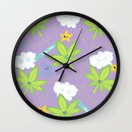 Canna Bae Dab Wall Clock