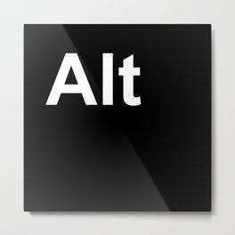 Alt Metal Print