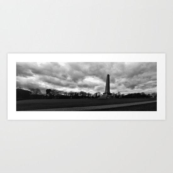 The Wellington Monument Art Print