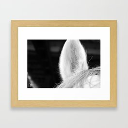 Nicker Framed Art Print