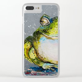 The Toad Clear iPhone Case