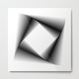 Square Feedback - 01 Metal Print