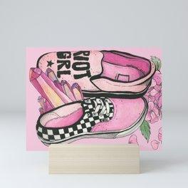 RIOT GRL Mini Art Print