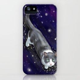 Starry Cat iPhone Case