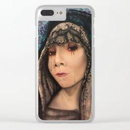 Santa Meurte Clear iPhone Case