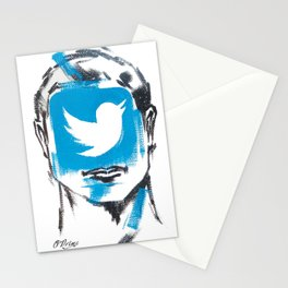 O'Prime twitter Stationery Cards