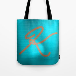 Metallic K Tote Bag