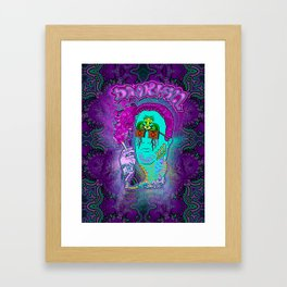 Dank Hill Framed Art Print