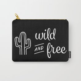 Wild and Free Cactus Carry-All Pouch