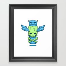Grim Totem: A Forked Tongue Tale Framed Art Print
