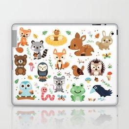 Woodland Animal Laptop & iPad Skin