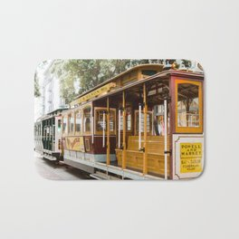 San Francisco Cable Car Bath Mat