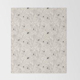 Blooming Throw Blanket