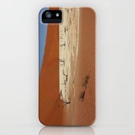 NAMIBIA ... Deadvlei IV iPhone Case
