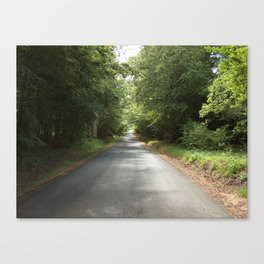 The Green Road Canvas Print