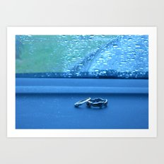 In Rain or Sunshine. Art Print