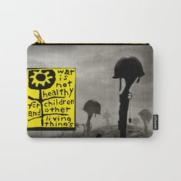 War is not healthy Carry-All Pouch