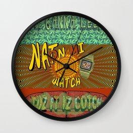 Cuz it iz Cotch Wall Clock