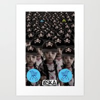 mass effect Art Prints featuring Mass Effect by LOSKA