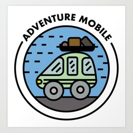 Adventure Mobile Art Print