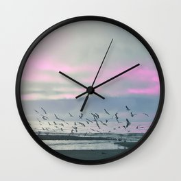 The Seagulls 3 Wall Clock
