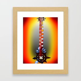 Fusion Keyblade Guitar #166 - Twilight Blaze & Two Become One Framed Art Print