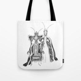 Royal Grasshoppers Tote Bag
