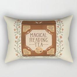 Magical Reading Tea Rectangular Pillow