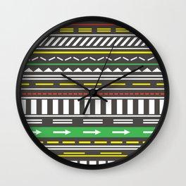 Street Cred Wall Clock
