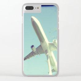 Bon voyage Clear iPhone Case