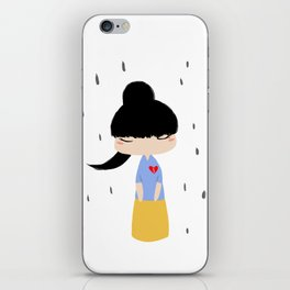 How to mend a broken heart? iPhone Skin