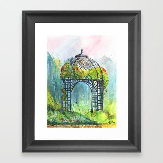 Descanso Gardens Framed Art Print