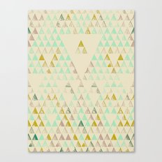 Triangle Lake Canvas Print