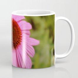 Pink Flower Head Coffee Mug