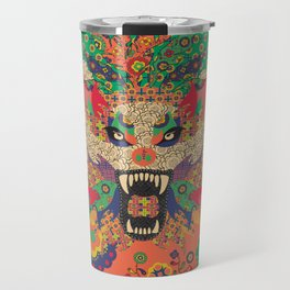 Wolf Woman  Travel Mug
