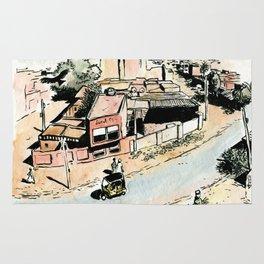 La rue - The street Rug