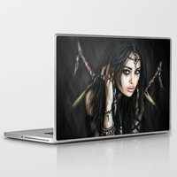 gypsy Laptop & iPad Skins featuring Gypsy by Justin Gedak