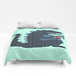 Let's be best friends forever! - Godzilla Comforters