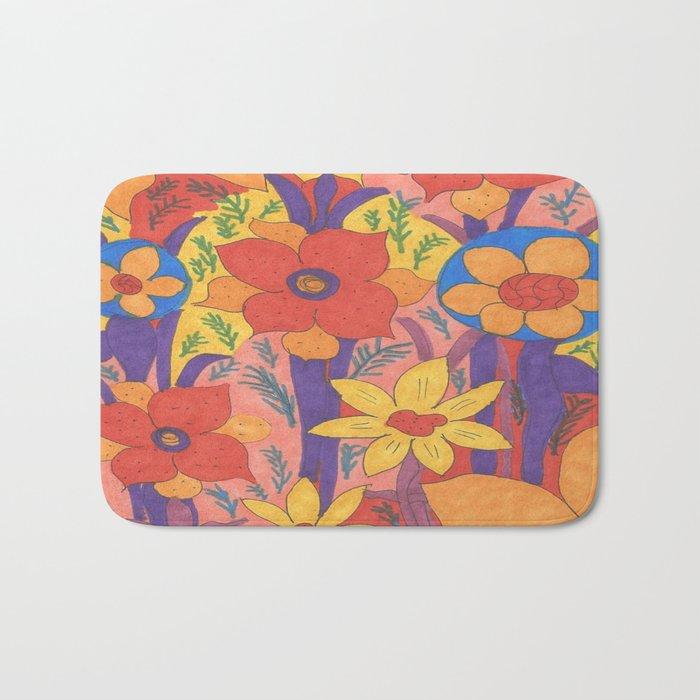 Sunshine and Wildflowers Bath Mat