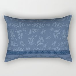 BLUE LEAF WEIM Rectangular Pillow