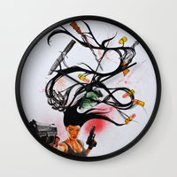 architect Wall Clocks featuring The Architect Pt. 2 by 3:33