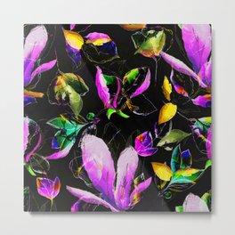 multi flowers iiv Metal Print