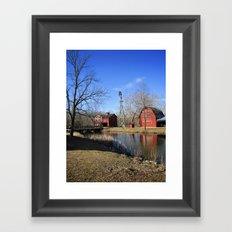 Bonneyville Mill Framed Art Print