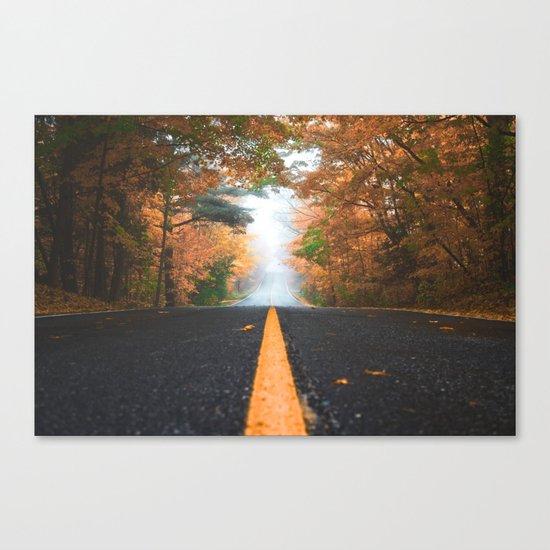 Road sweet road Canvas Print