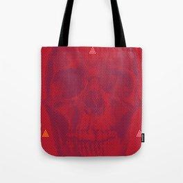 QUANTUM SKULL Tote Bag