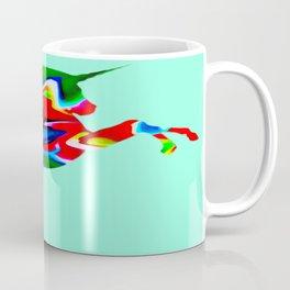 Watercolor unicorn-Light blue Coffee Mug